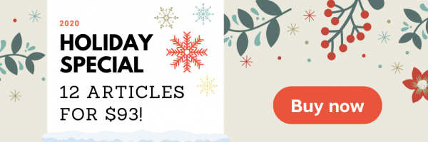 Holiday Discount graphic